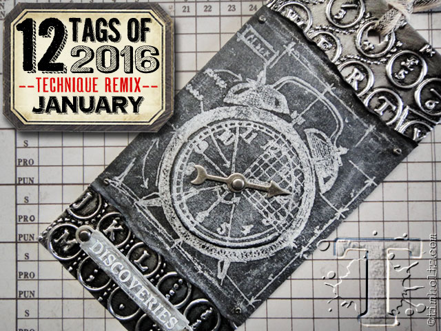 12 Tags of Tim Holtz 2016