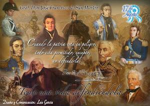 17 DE AGOSTO ANIVERSARIO DEL FALLECIMIENTO DEL GENERAL DON JOSE DE SAN MARTIN