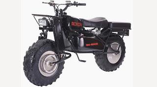 offroad motorrad mit zweirad-antrieb
