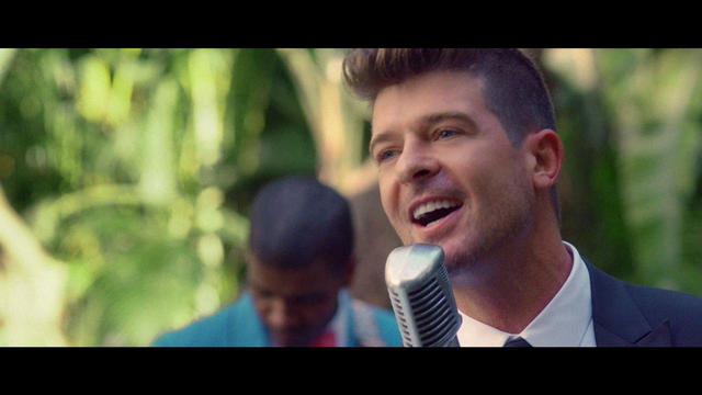 Robin Thicke - Back Together (feat. Nicki Minaj) - Music Video Cover
