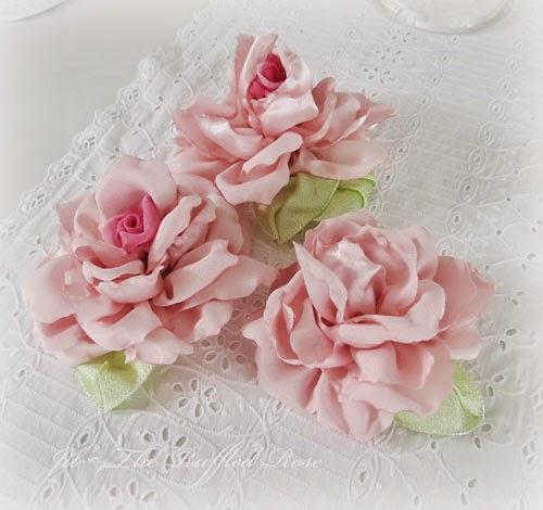 Handmade Satin Roses