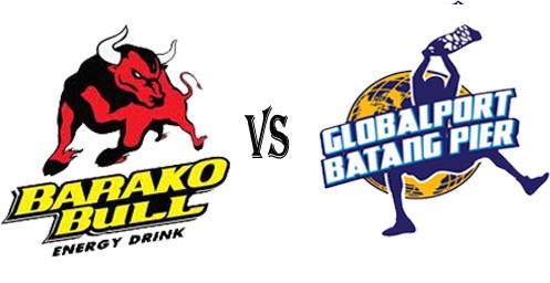 PBA 2012-2013 Barako Bull Energy Cola  vs Globalport Batang Pier