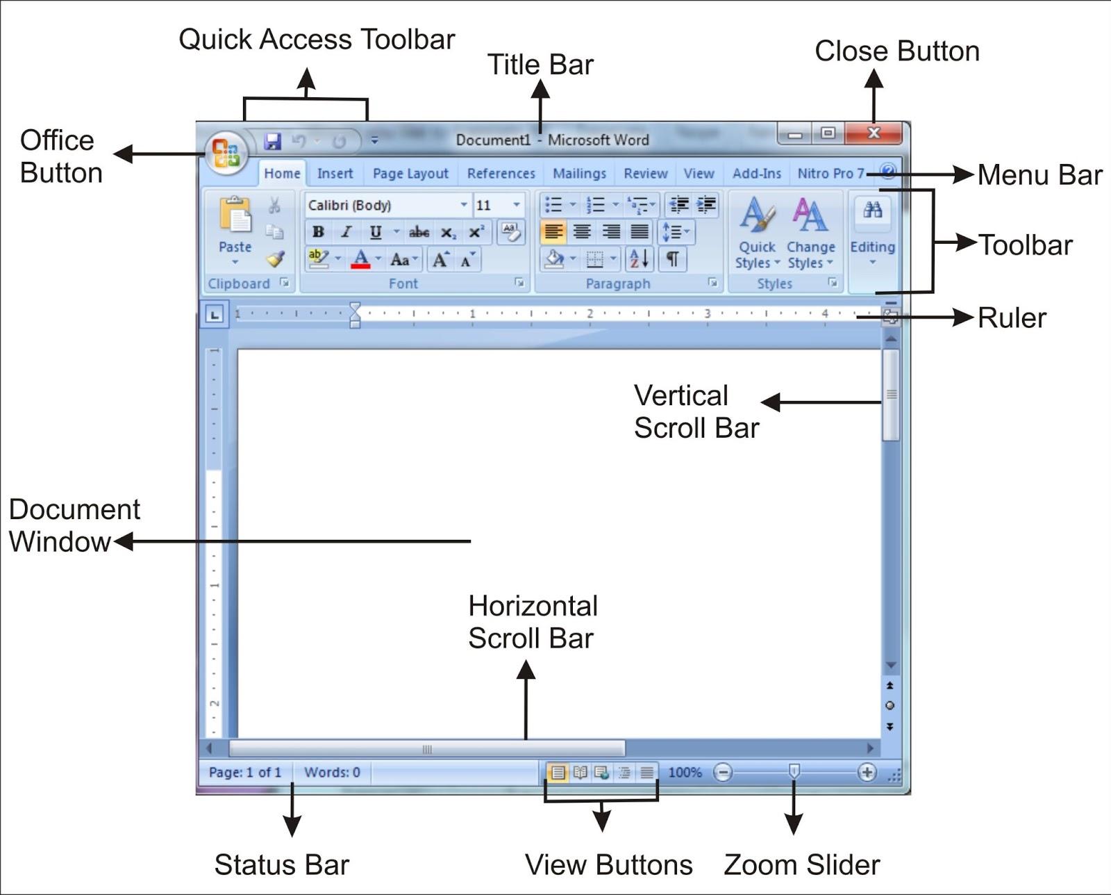 tool tool microsoft word 2007