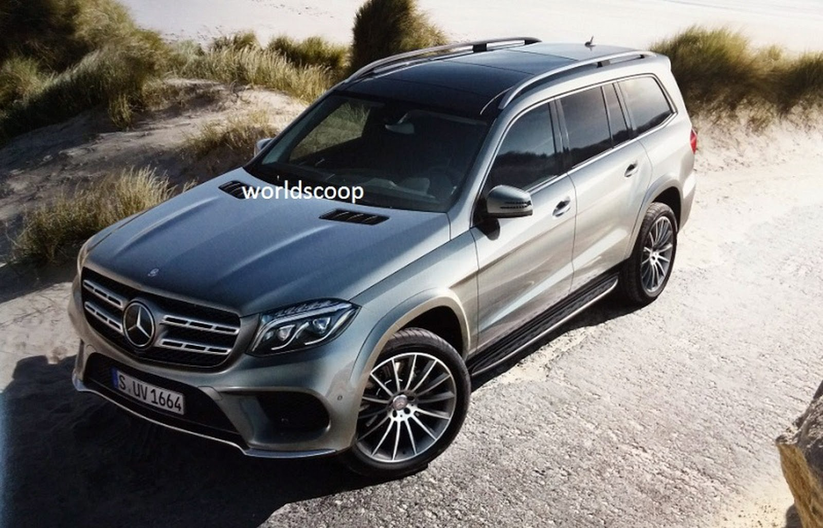 2017 mercedes benz gls aka the facelifted gl leaks online for 2017 mercedes benz gl450