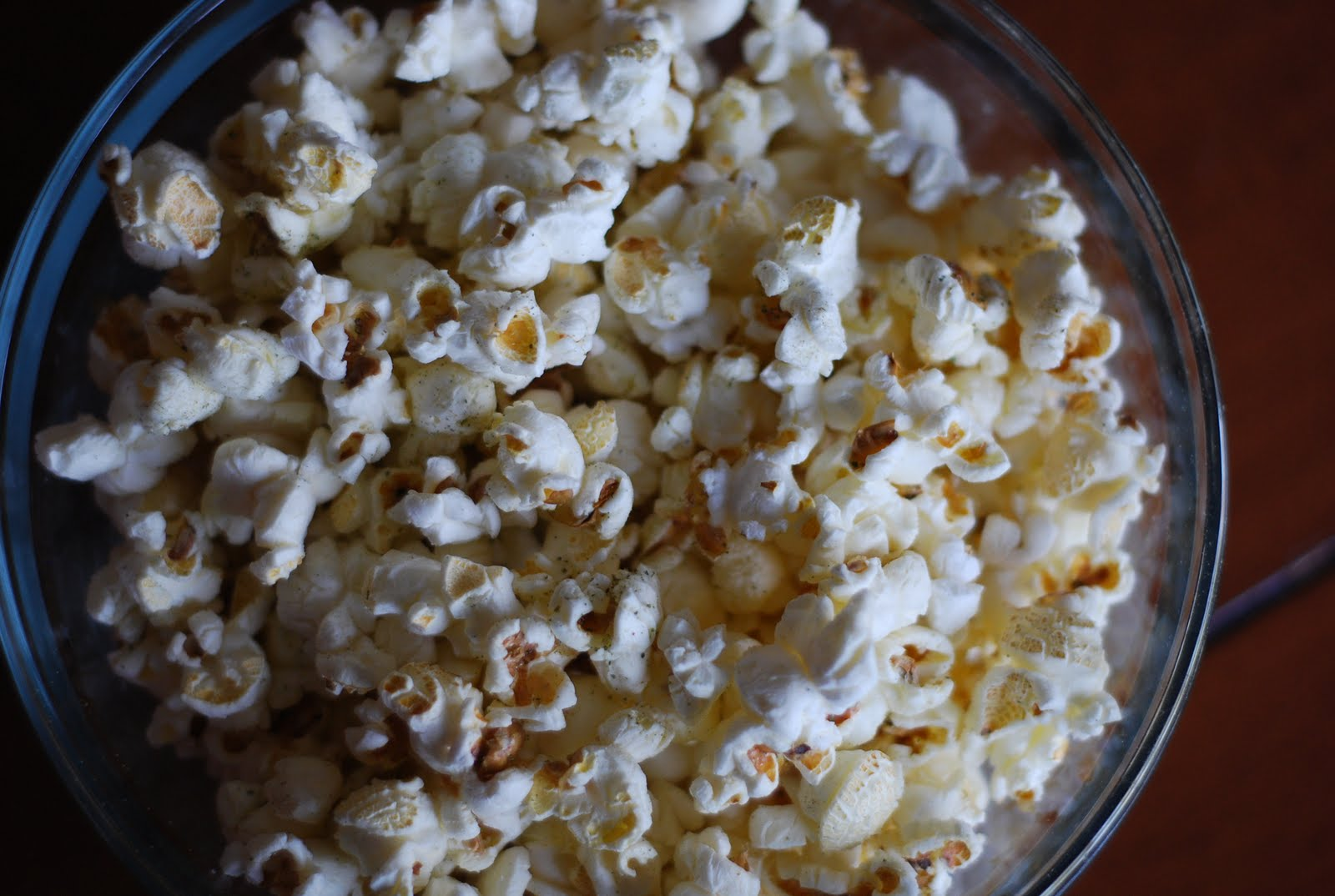 Return to the Garden: ROSEMARY-SAGE POPCORN