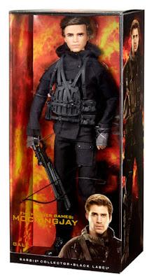 TOYS : JUGUETES - BARBIE Collector : Black Label Gale Hawthorne | Muñeco - doll The Hunger Games : Mockingjay Part 2Los Juegos del Hambre : Sinsajo Parte 2 Producto Oficial Película 2015 | Mattel CJF56 | A partir de 15 años Comprar en Amazon España & buy Amazon USA