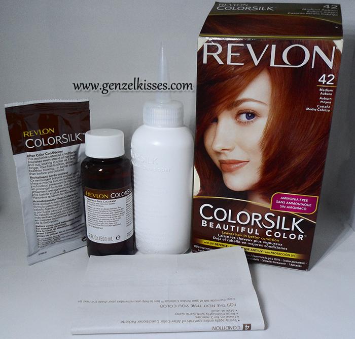 How To New Hair Color For 2013 Revlon Colorsilk Medium Auburn