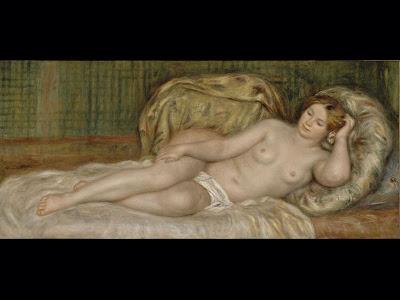 Pierre-Auguste Renoir, Nu sur les cousins - 1907