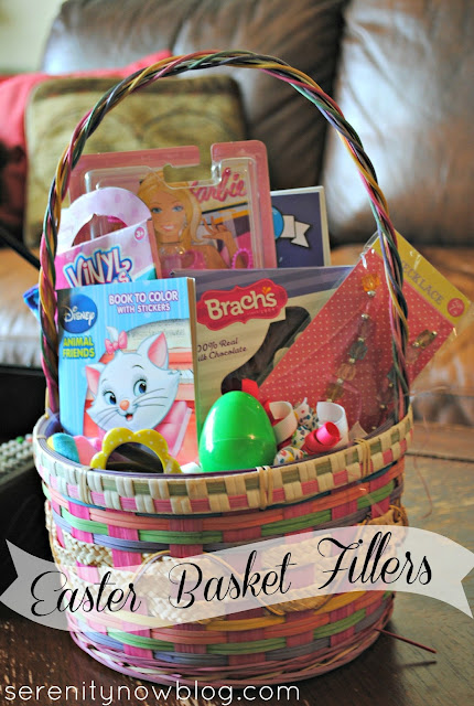Easter Basket Filler Ideas, from Serenity Now #Easter