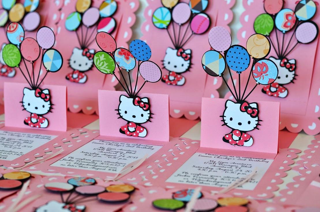 jingvitations hello kitty pop up balloon birthday invitations hello kitty baby shower invitations