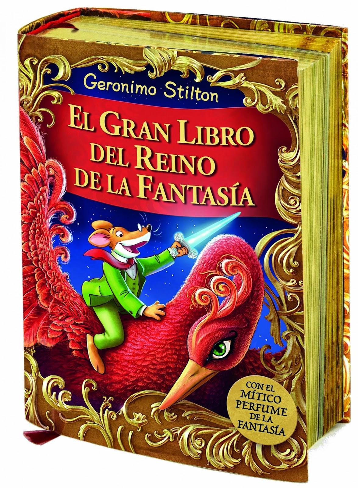 Ranking Semanal. Número 3: El Gran Libro del Reino de la Fantasía, de Geronimo Stilton.