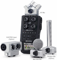 Zoom H6 and accessories