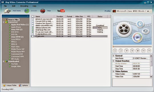 Any Video Converter For PC download FREE