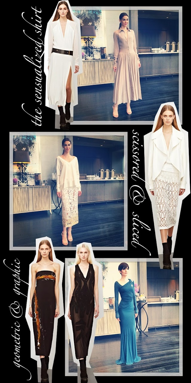 Donna Karan New York Pre-Fall 2014 preview at the Ritz-Carlton Residences