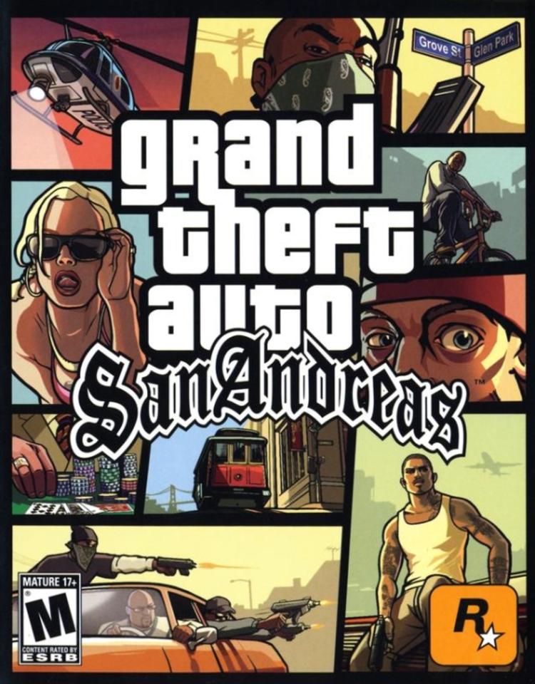 Save Game GTA San Andreas PC 100% Tamat