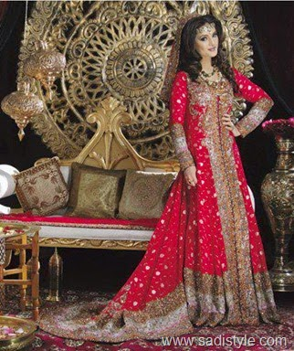 sharara wedding dress designs 2015