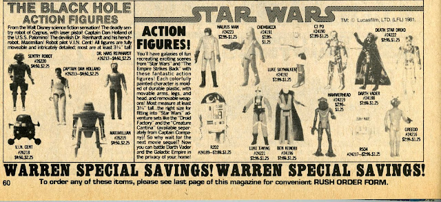 famous monsters Star Wars advert