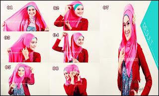 model jilbab pashmina untuk wisuda