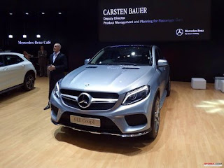 Mercedes-Benz Presents SUV GLE 400 AMG Coupe in JAS 2015