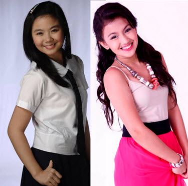 Miles Ocampo and Karen Reyes