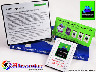 Baterai Blackberry Double Power JM-1 Hippo Power
