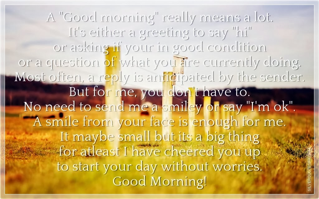 Good Morning Beautiful In Tagalog : Good morning silver quotes