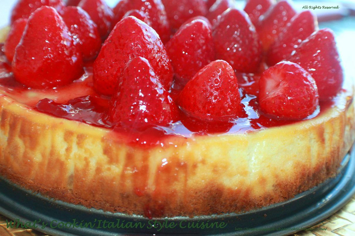 Strawberry Cheesecake Copycat Recipe Manny's Utica New York