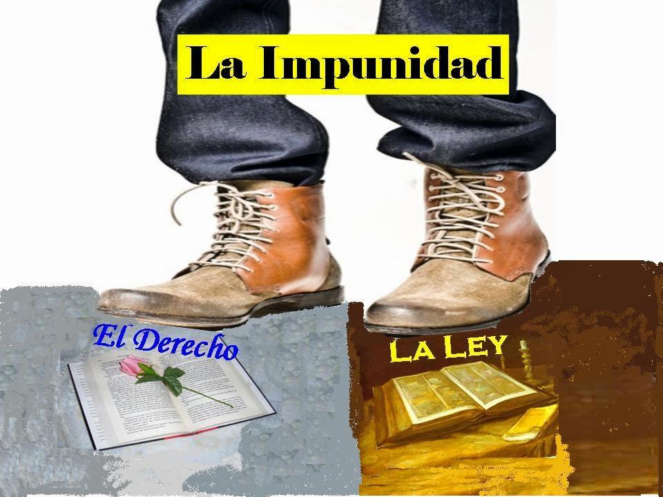 impunidad, justicia, poema social, delito