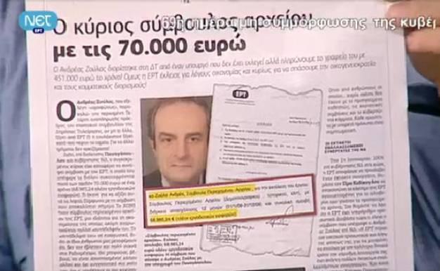 Ανδρέας Ζούλας, ο κύριος σύμβουλος αρχείου με τις 70.000 ευρώ