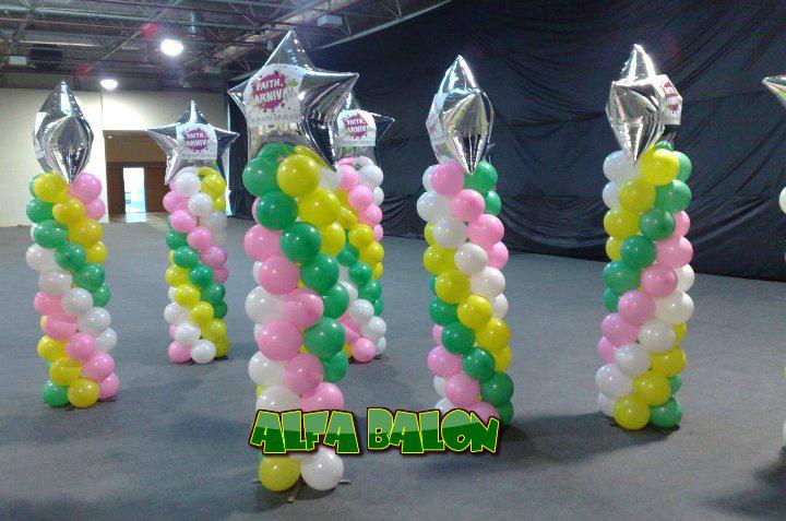 Dekorasi Balon Lampion