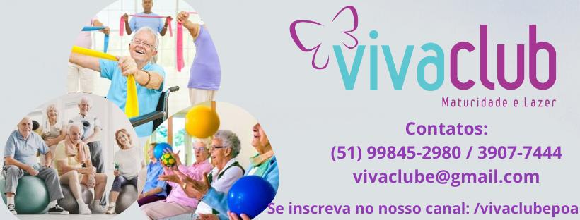 VIVACLUB - TERCEIRA IDADE PORTO ALEGRE, SAÚDE, LAZER, MATURIDADE, ATIVIDADES FÍSICAS, CONVÍVIO.