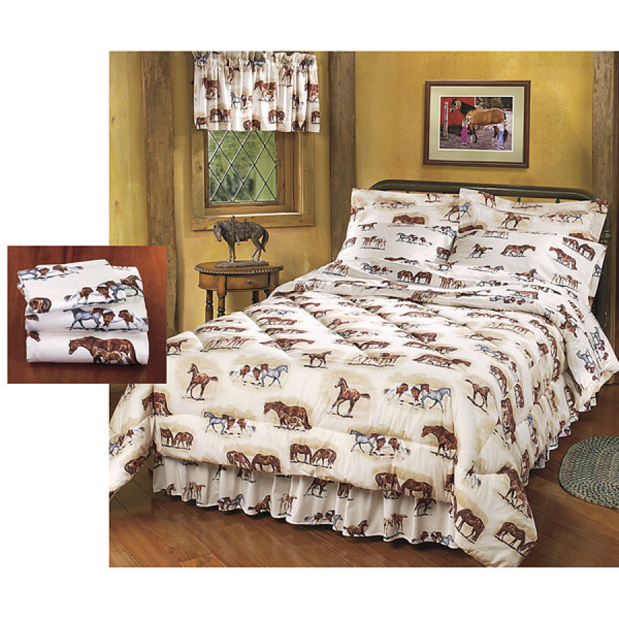 Best horse gifts pasture pals comforter sets are on sale now for Bedding sets sale