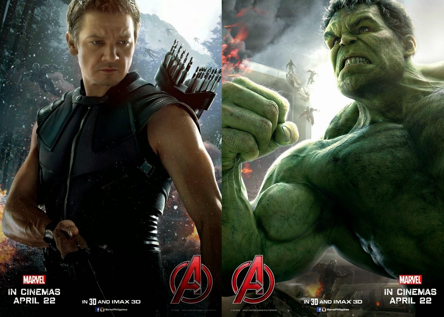 Hawkeye and Hulk Movie Poster