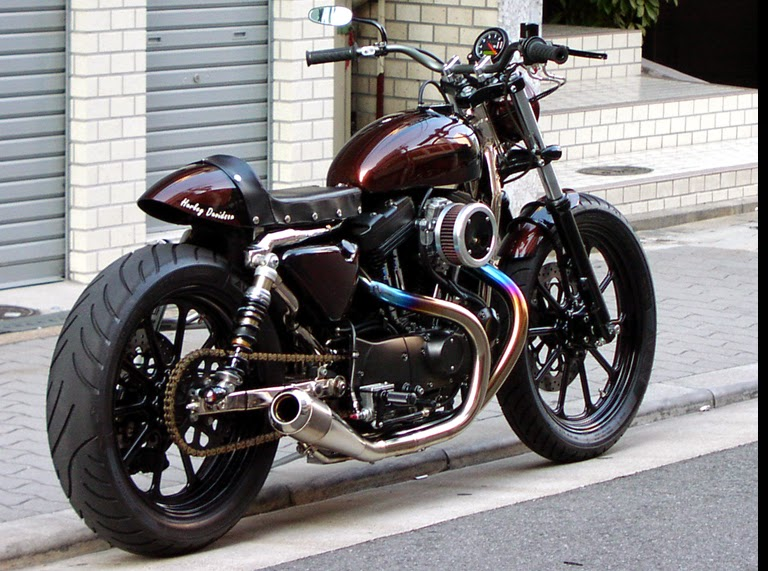 Planet Japan Blog Harley Xlh 1200 S By Tramp