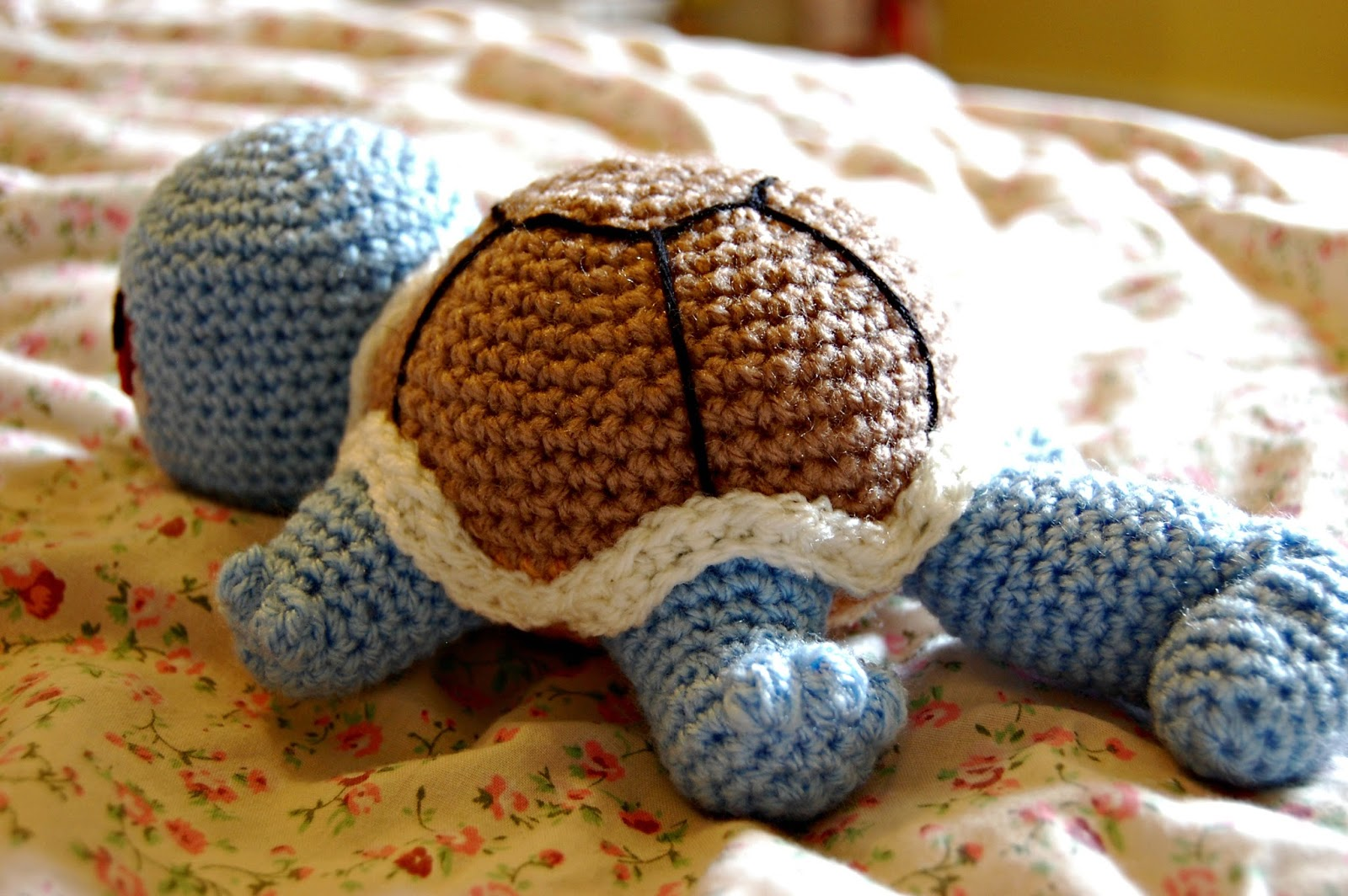 the geeky knitter: fo: crochet baby squirtle