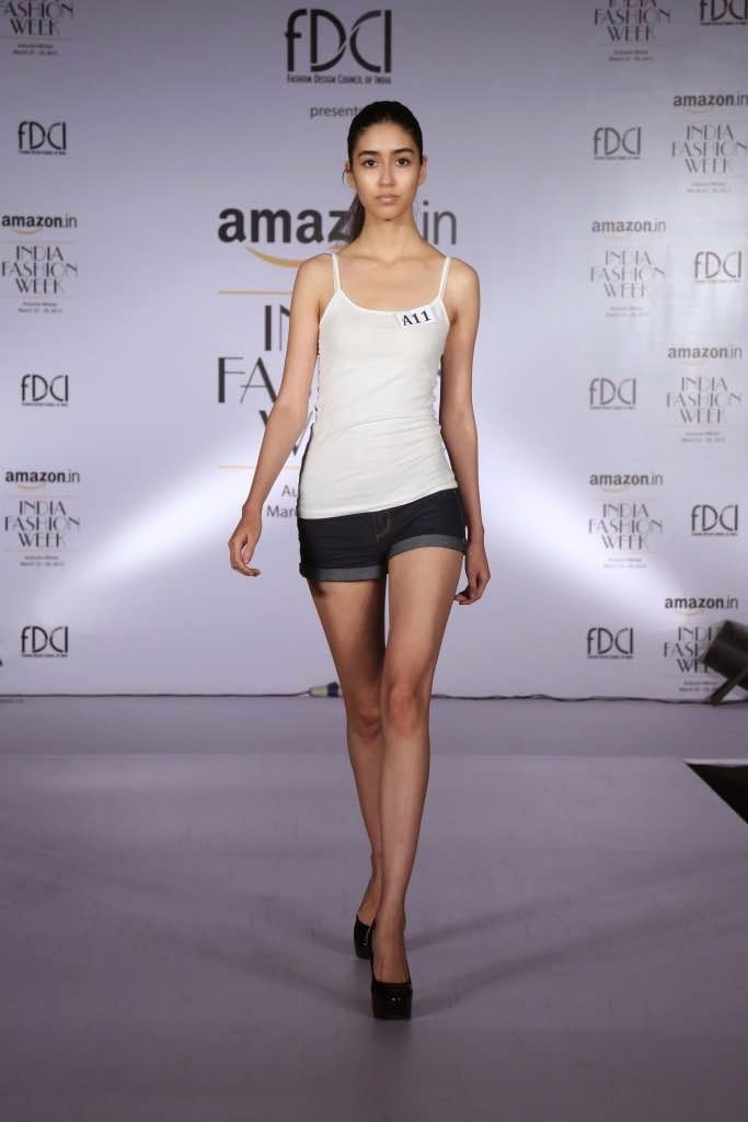 Model selected for Amazon India Fashion Week AW'15