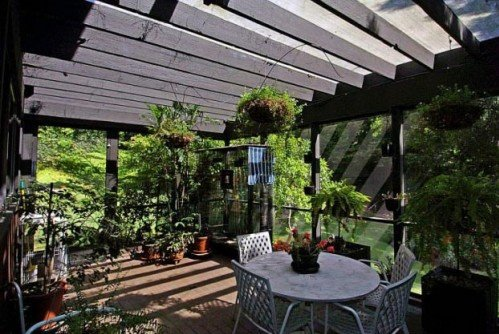 Intrerior design home american modern terrace design for Terrace interior design ideas