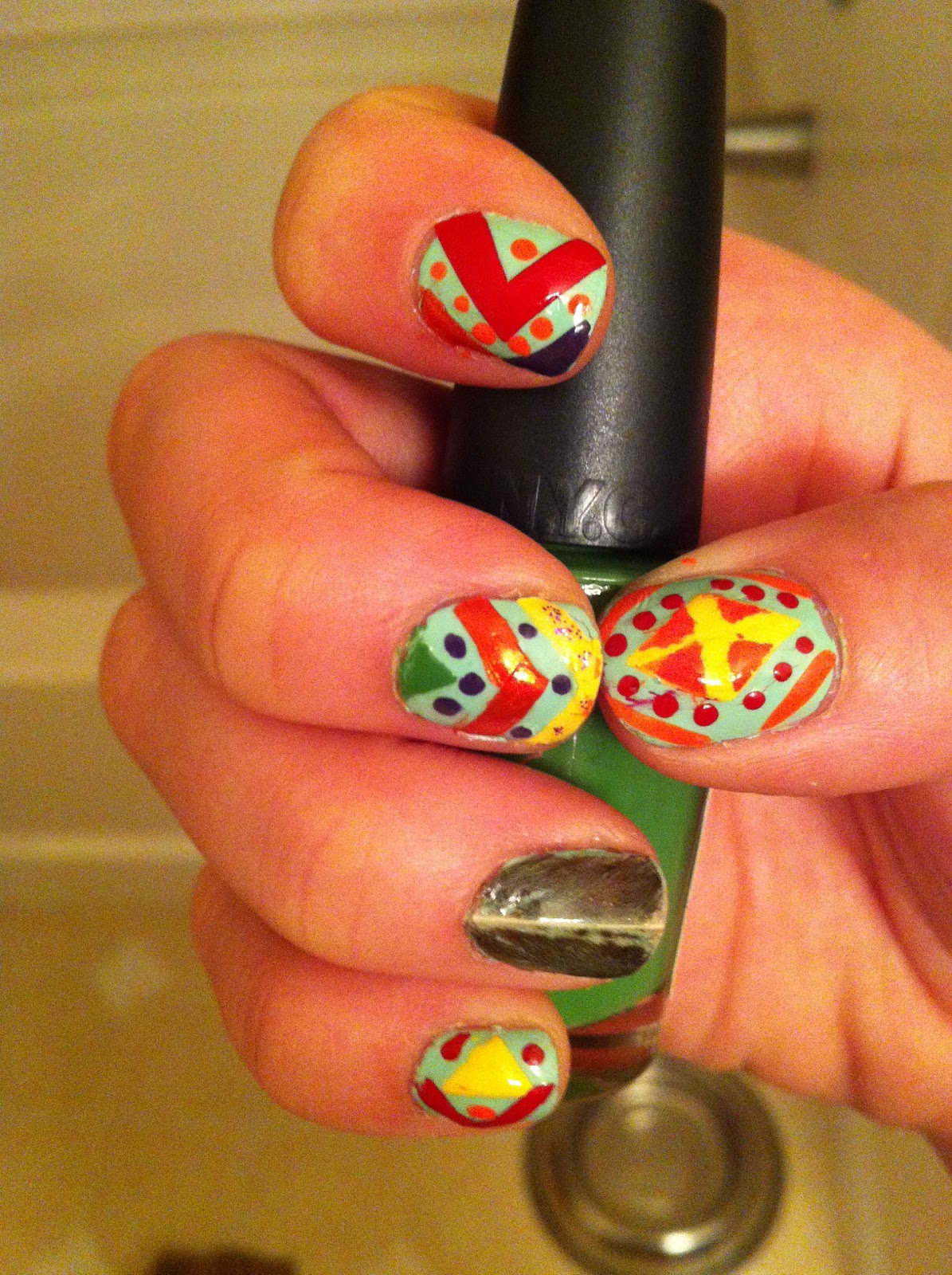 Pending Nail Consult: How to make your own nail art decals