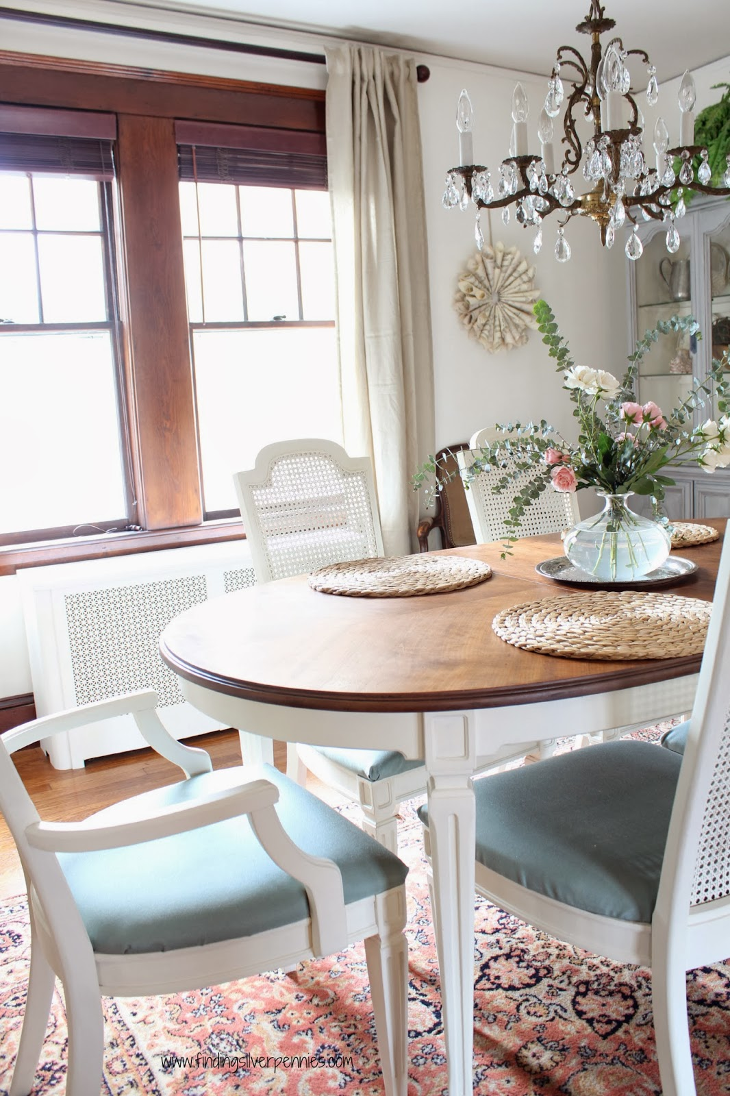 Painting Dining Room Furniture Dining Room Reveal Designing On A Dime Finding Silver Pennies