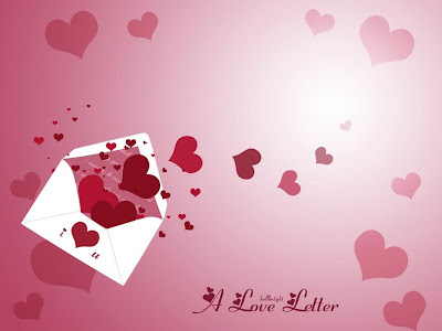 Expressing Your Love Through Letters Or Internet? - love letter - hearts