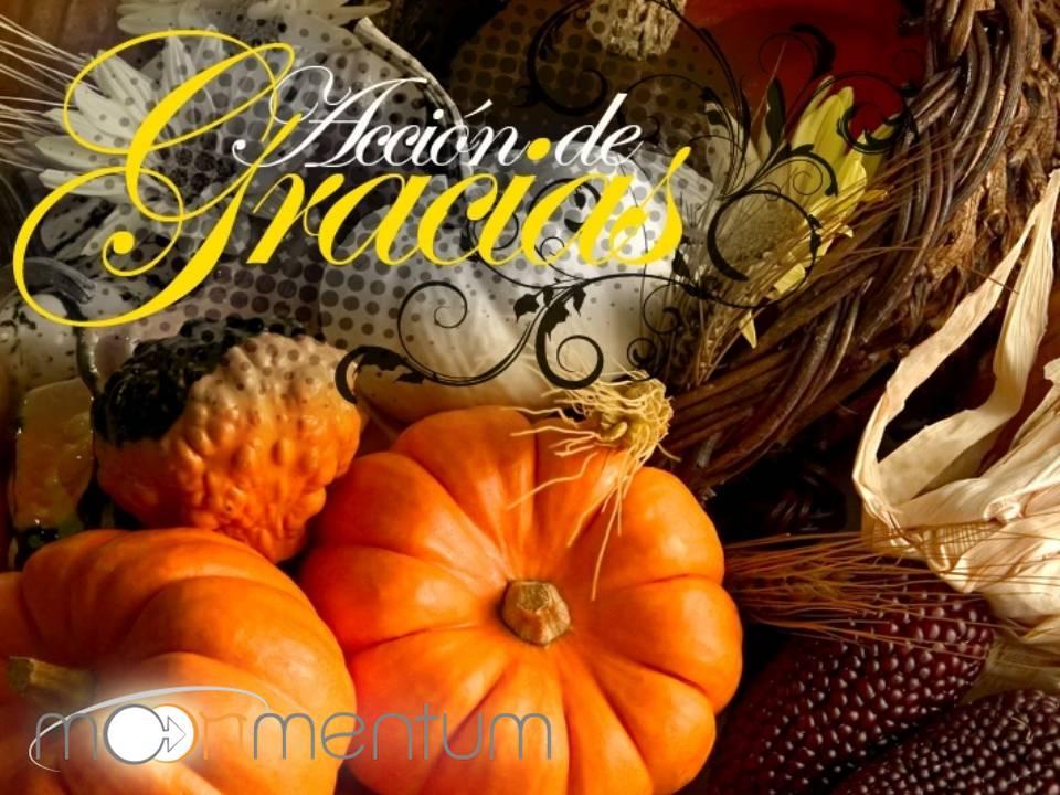Tarjetas de Acción de Gracias