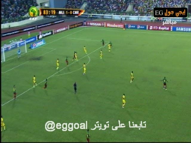 اهداف مبارة مالي والكاميرون 1-1 بطولة كاس الامم الافريقية 2015 MALI1-1CAMERON CAN