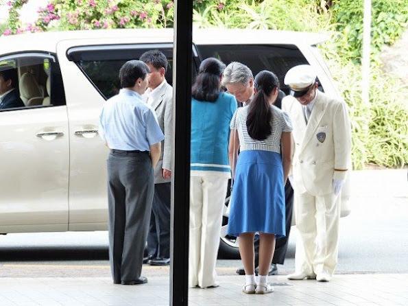 Crown Prince Naruhito of Japan, Crown Princess Masako of Japan and Princess Aiko of Japan