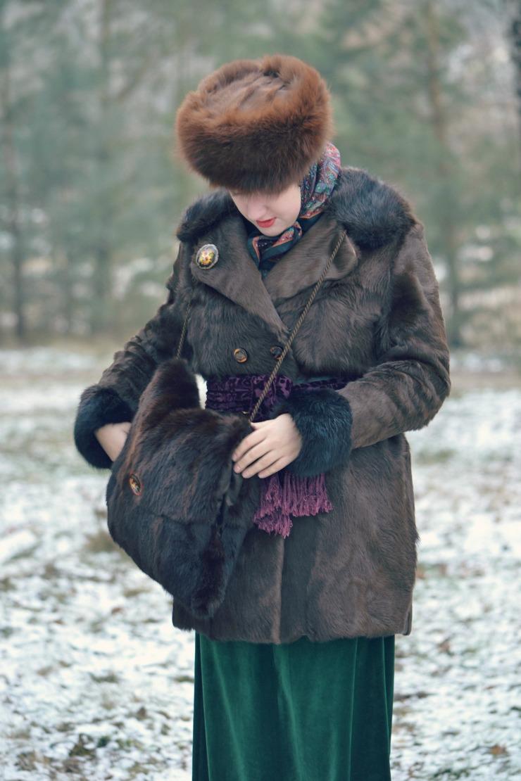Zimowy spacer, czyli o cieple w XIX wieku