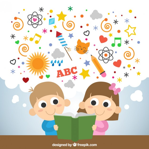 enfant qui lit un livre