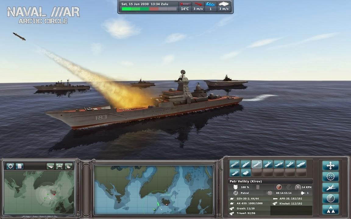 Naval War Arctic Circle PC Game Free Download