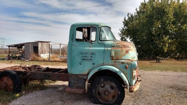1956 Dodge Model H Cabover Truck - Old Truck