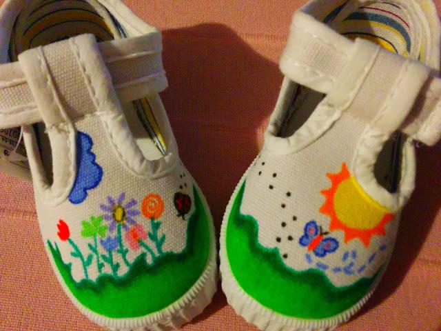 Zapatillas Pintadas a Mano Impares