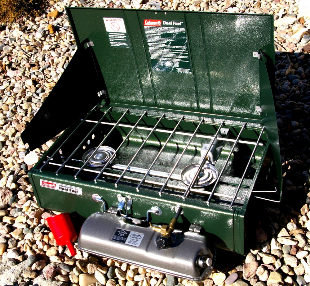 COLEMAN SPORTSTER POWERHOUSE DUAL FUEL STOVES REVIEW