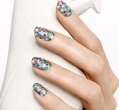 Lindisima blog dise os de u as con piedras y pegatinas for Unas decoradas con piedras de cristal